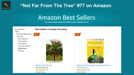 """""""Not Far From The Tree"""" #77 on Amazon"""