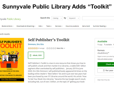 """""""Self Publisher's Toolkit"""""""