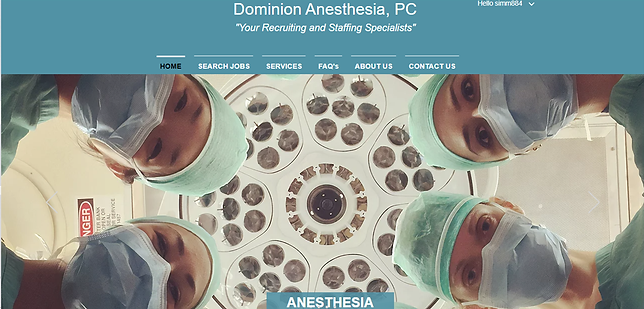 Anesthetist Site Screenshot 1.png