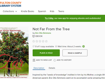 """Not Far From The Tree"" Checked Out at Fulton County"
