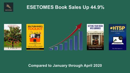 ESETOMES Book Sales Up 44.9%