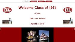 High School Reunion Landing Page