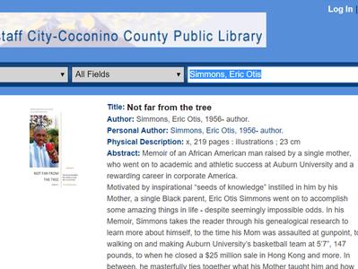 Flagstaff City Library Adds Memoir