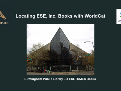 Locating ESE, Inc. Books with WorldCat