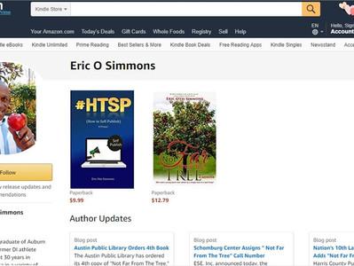 Amazon Author's Page Like a Mini Website