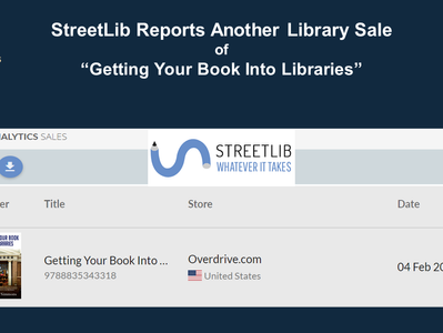 StreetLib Reports Another OverDrive Library Sale