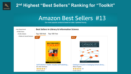 Toolkit at #13 on Amazon