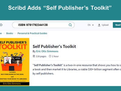 """Scribd Adds """"Self Publisher's Toolkit"""""""