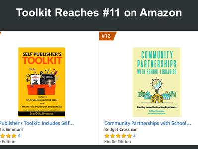 """Self Publisher's Toolkit"" #11 on Amazon"