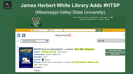 Mississippi Valley State University Adds #HTSP