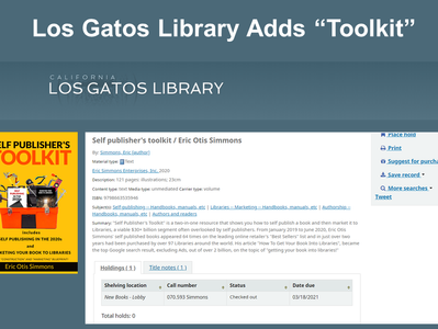 Library Adds Toolkit