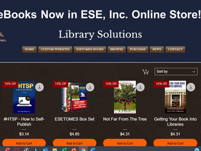 eBooks Now in Online Store