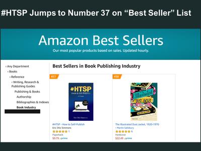 "#HTSP Makes Amazon ""Best Seller"" List Again at Number 37"
