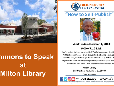 Simmons to Speak at Milton Library