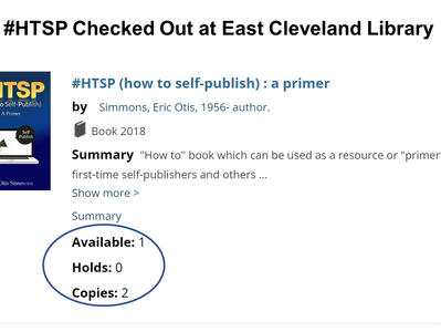 """""""#HTSP - How to Self-Publish"""""""