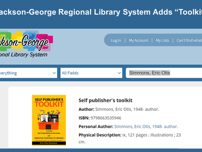 """Mississippi Library Adds """"Self Publisher's Toolkit"""""""