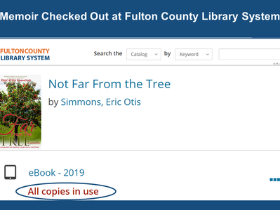 Memoir Checked Out at Fulton County