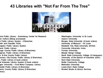 """43 Libraries and Counting Have """"Not Far From The Tree"""""""
