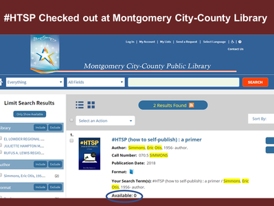 #HTSP Checked out at Montgomery City-County Public Library