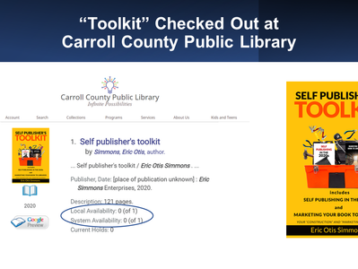 """""""Toolkit"""" Checked Out at Carroll County"""