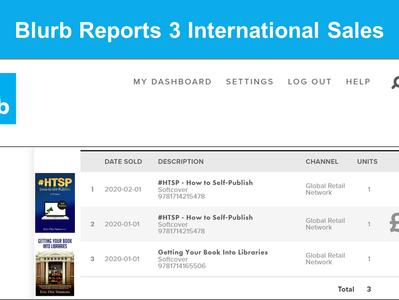 Blurb Reports 3 International Sales