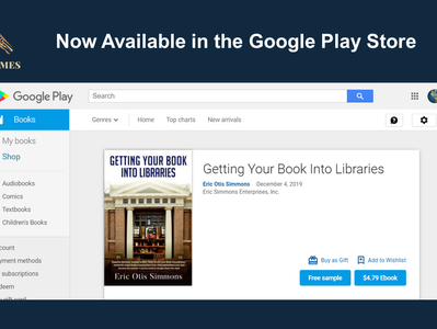 """""""Getting Your Book Into Libraries"""" Now in Google Play Store"""