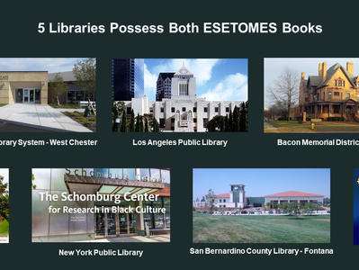5 Libraries Possess Both ESETOMES Books