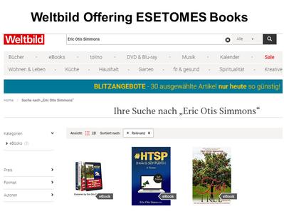 Weltbild Offering ESETOMES Books