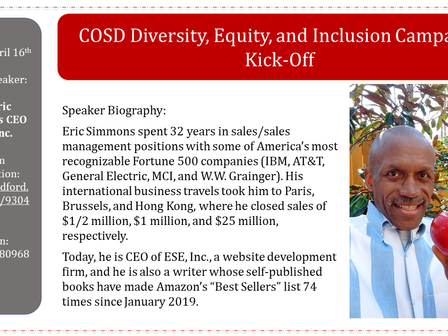 Diversity Session Well Received