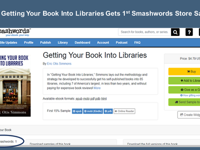 Getting Your Book Gets 1st Smashwords Store Sale