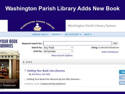 Washington Parish Library Adds Book