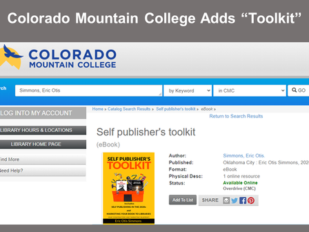 """College Adds """"Toolkit"""""""