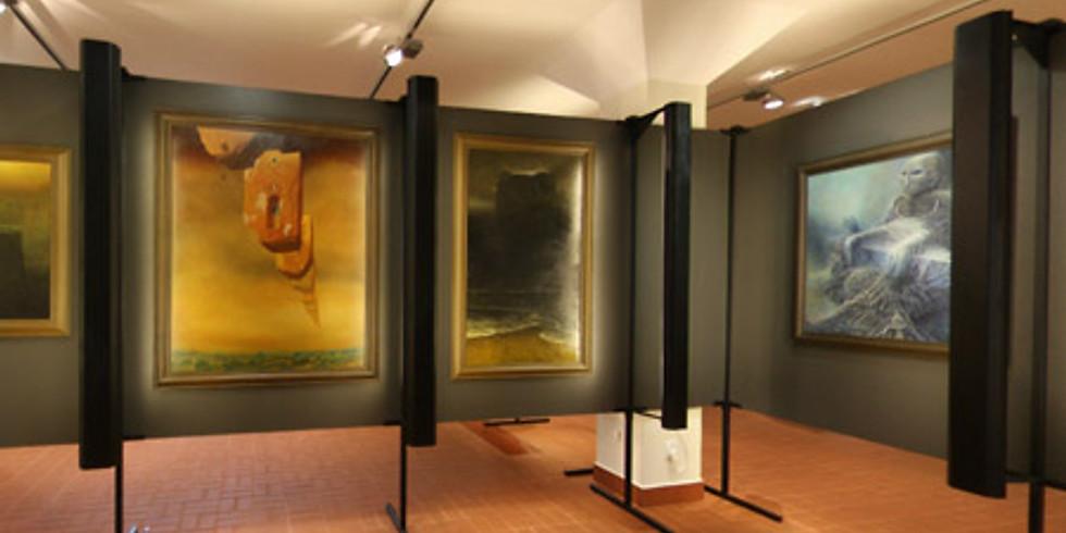 Gallery of Zdzisław Beksińskiat the Historical Museum in Sanok