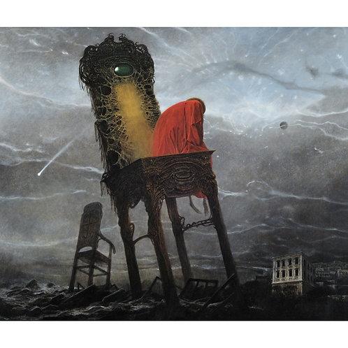BEKS0057s - Reproduction of Zdzisław Beksiński's painting on canvas