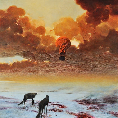 BEKS0001s - Reproduction of Zdzisław Beksiński's painting on canvas