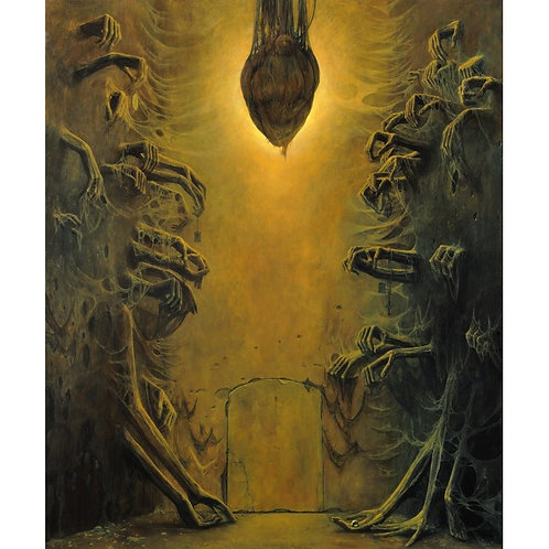 BEKS0027s - Reproduction of Zdzisław Beksiński's painting on canvas