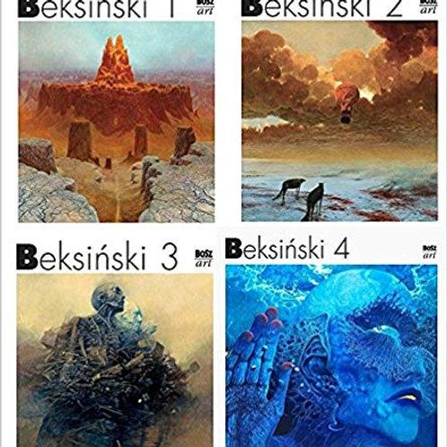 Beksiński Miniatures vol. 1-4