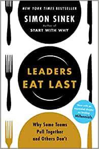 Leaders Eat Last by Simon Sinek Book Cover