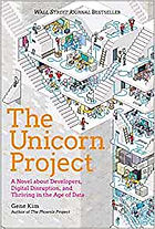 The Unicorn Project by Gene Kim Book Cover