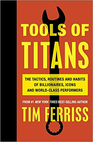 Tools of Titans by Tim Ferris Book Cover