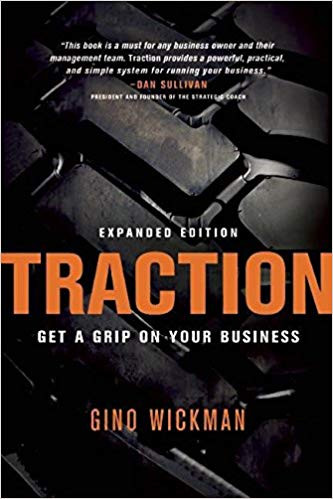 Traction: Get a Grip on Your Business by Gino Wickman Book Cover