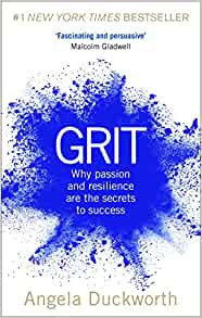 Grit by Angela Duckworth Book Cover