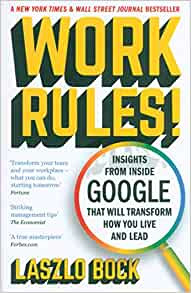 Work Rules by Laszlo Block Book Cover