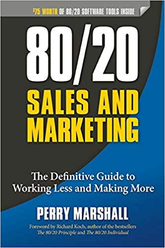 80/20 Sales and Marketing by Perry Marshall Book Cover