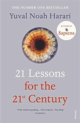 21 Lessons for the 21st century by Yubal Noah Harari Book Cover