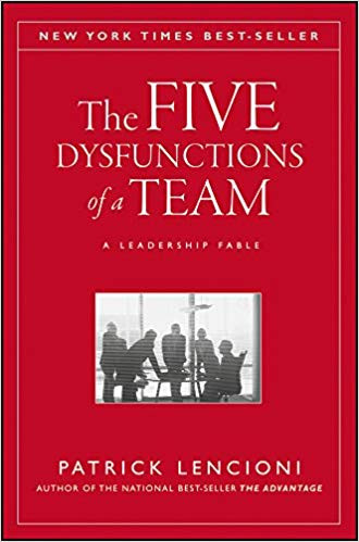 The Five dysfunctions of a team by Patrick M.Lencioni