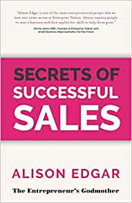 Secrets of Successful Sales by Alison Edgar Book Cover
