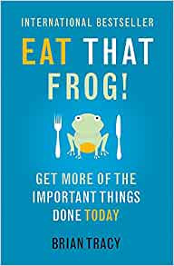 Eat That Frog by Brian Tracy Book Cover