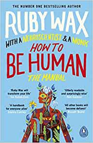 How to be human by Ruby Wax Book Cover