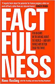 Factfulness by Hans Rosling Book Cover